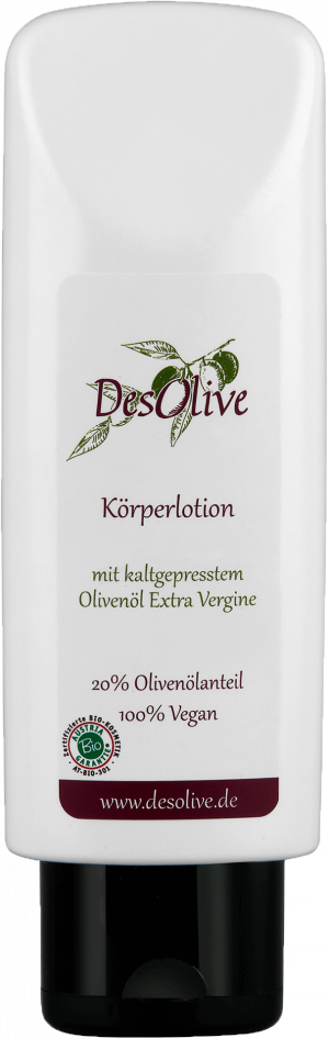 Body lotion with cold-pressed organic olive oil 200ml