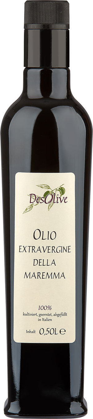 Extra virgin olive oil from Tuscany and Lazio 0,5L